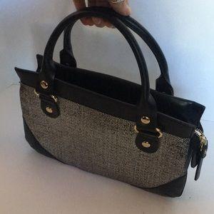 Kate Spade metallic tweed handbag